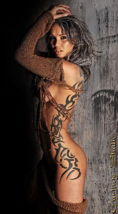 @PinFantasy - Gorgeous tattoo ~~ See more at:  - ✯ http://www.pinterest.com/PinFantasy/arte-~-de-la-piel-tattoo/ ✯ #BodyArt