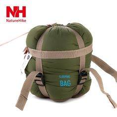 Green NH15S003D Naturehike Outdoor Waterproof Mini Ultralight Portable Camping Envelope Sleeping Bag Convenient Camping Travel Hiking Bag ** Details can be found by clicking on the image.(This is an Amazon affiliate link)