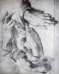 Michelangelo hands