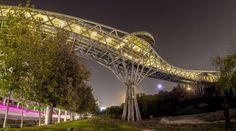 Tabiat Pedestrian Bridge | Diba Tensile Architecture | Iran