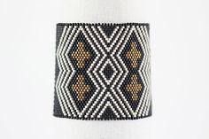 Peyote Bracelet Pattern MIRIAM Bracelet in by SabriyeCreative