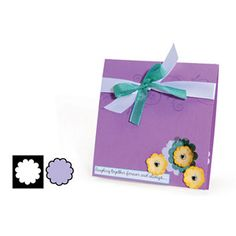 Sizzix Movers & Shapers Magnetic Die - Circle, Scallop #2 $9.99