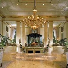 Waldorf Astoria NYC - where we first stayed on our Honeymoon.