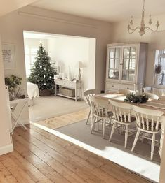 Oh Christmas tree, oh Christmas tree, how lovely are your branches 🎄 it's absolutely FREEZING today but no snow down here in rainy Dorset.… Room layout with christmas tree Home Living Room, Living Room Designs, Living Room Decor, Dining Room, Rustic Home Design, House Design, Garden Design, Interior Design, Christmas Tree