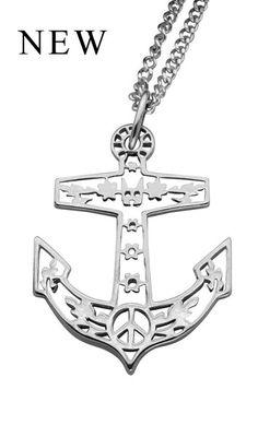 f5b921c7307e Filigree Anchor Pendant... love it so much! Anchor Necklace