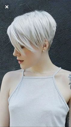 Best Pixie and Bob Short Hairstyles for Women You Must Look - Page 12 of 27 - frisuren frauen frisuren männer hair hair styles hair women Curly Hair Styles, Short Hairstyles For Thick Hair, Short Grey Hair, Short Pixie Haircuts, Short Hairstyles For Women, Trendy Haircuts, Medium Hairstyles, Teen Hairstyles, Casual Hairstyles