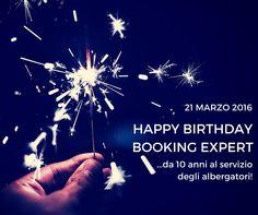 Happy birthday Booking Expert! 10 anni a servizio degli albergatori! www.bookingexpert.it