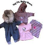 Sy tøj til BabyBorn af stofrester