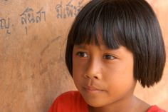 Refugee Camp Girl, Khao Lak, Thailand  By Vicky Collins