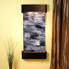 Adagio Cascade Springs Fountain with Blackened Copper Finish and Rounded Edges - Multiple Colors Available (