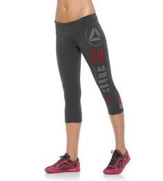 Want! Reebok Womens Reebok CrossFit Forging Elite Fitness Capri - Print Pants | Official Reebok Store #crossfit #apparel #reebok