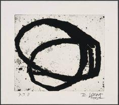 Richard Serra etching