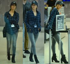 "Megan Fox Films ""TMNT2"" in Edgy Timberland ""Glancy"" Boots"