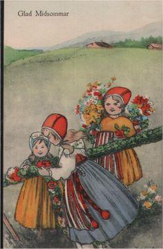 145.127 Glad Missommar, Kinder, Blumenschmuck, Trachten | eBay