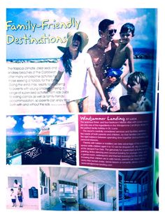 Windjammer Landing feature in Real Life Magazine  #FamilyFriendly #Caribbean #travel #beaches