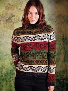Ravelry: Portree Sweater pattern by Martin Storey