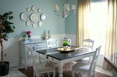 aqua dining room | Aqua Dining Room Reveal!