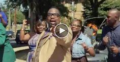 Flash Mob Sings Every Praise