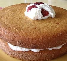 Yellow Cake using Pamela's pancake/baking mix. This was very yummy! We used extra virgin, organic coconut oil instead of butter, 3/4 cup maple syrup, and I omitted the almond extract because we didn't have it. Turned out great. We love this mix!