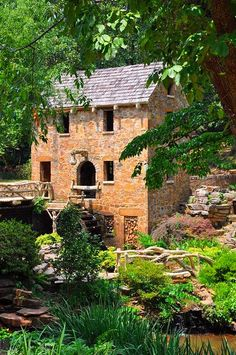 The Old Mill,Little Rock Ar.Opening scene of Gone with the Wind filmed here