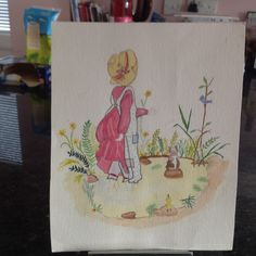 Watercolour painting Watercolour Painting, Napkins, Tableware, Projects, Log Projects, Dinnerware, Towels, Dishes, Napkin