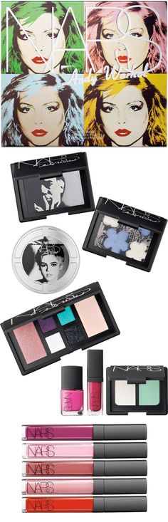 The NARS Andy Warhol Collection.