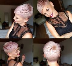 beautiful shorthair models for women women hair models still arts beautiful models shorthair women Source by model Short Pixie Haircuts, Pixie Hairstyles, Pretty Hairstyles, Short Hair Cuts, Short Hair Styles, Super Short Hair, Corte Y Color, Cornrows, Hair Today