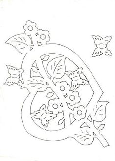 Kirigami, Adult Coloring, Coloring Pages, Stencils, Paper Cutting Patterns, Paper Lace, Scroll Saw Patterns, Spring Crafts, Card Templates