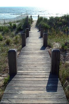 Walking to the beach in the Currituck Outer Banks. Future home of Me <3