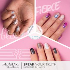 My favorite subscription is the StyleBox by Jamberry. It's completely customizable, so mix and match to your heart's content! - Dana #ghousejams