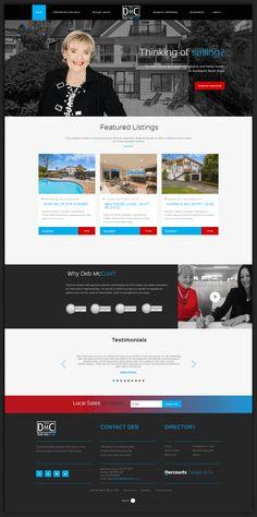 Business Website, Design Development, Auckland, Real Estate, Real Estates