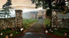 Historic Hunting Lodge in the Scottish Highlands
