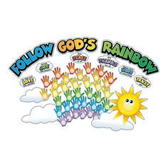 Hand Print Colors of Faith Bulletin Board Cutouts - OrientalTrading.com can do something like this ourselves.
