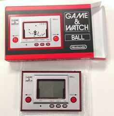 Nintendo Game & Watch - Ball.  Reproduction available only through the Nintendo Club.