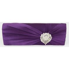 Belle Luxury Satin Clutch Handbag - Purple Also in Navy, Teal, Black, Ivory and Silver http://www.happyweddingday.co.uk/collections/bags/products/belle-luxury-satin-clutch-handbag