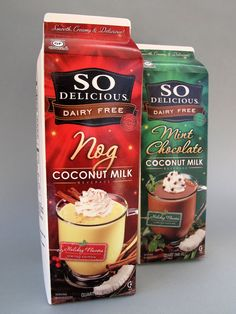 Holiday Limited Editions.  Dairy and Soy Free.  Very scrumptious.