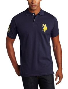 0e4faca5f U.S. Polo Assn. Men s Solid Polo Shirt at Amazon Men s Clothing store