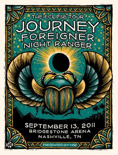 Journey, Foreigner and Night Ranger