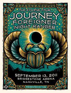 Journey, Foreigner and Night Ranger