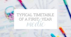 Wondering what your timetable could look like in the first year of medical school? Or just a curious med student? Either way, make sure you have a read of my typical week...