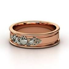 Celtic Wedding Rings and tying the Knot Celtic Wedding Rings, Celtic Rings, Gold Claddagh Ring, Celtic Spiral, Celtic Designs, Love Ring, 18k Rose Gold, Gold Rings, Engagement Rings