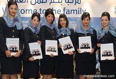 Gulf Air Stewardess Photos ~ Cabin Crew Photos