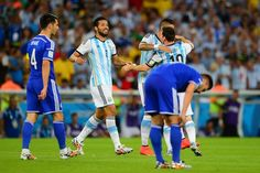 Lionel Messi and Co' triomphent Argentine-Bosnie 2-1 (Groupe F) - http://www.actusports.fr/106180/lionel-messi-and-co-triomphent-argentine-bosnie-2-1-groupe-f/