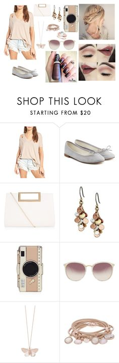 """""""Sem título #99"""" by evelynfreitas ❤ liked on Polyvore featuring COMUNE, Repetto, New Look, Lucky Brand, Kate Spade, Linda Farrow, Alex Monroe and Marjana von Berlepsch"""