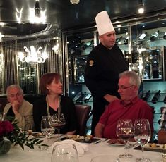 Master Chef's Table, Holland America Holland America Cruises, Holland America Line, Chef's Table, Amsterdam