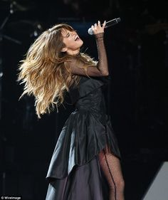 Putting her heart and soul into it: The Come And Get It star is on tour in…