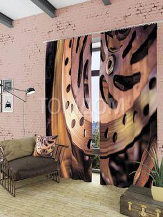 """Комплект штор """"Деталь"""": купить комплект штор в интернет-магазине ТОМДОМ #томдом #curtains #шторы #interior #дизайнинтерьера"""