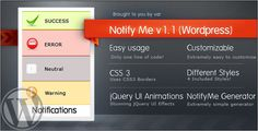 Deals NotifyMe (Wordpress Edition)today price drop and special promotion. Get The best buy