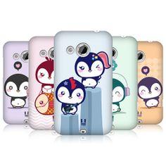 HEAD CASE DESIGNS KAWAII PENGUIN PROTECTIVE BACK CASE COVER FOR HTC DESIRE 200