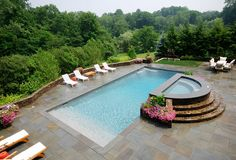love the rectangular pool
